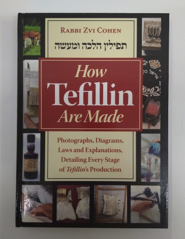 How Tefillin Are Made-Book