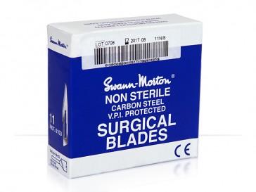 Non-Sterile #11 Surgical Blades 100/Box