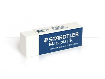 White Rubber Eraser