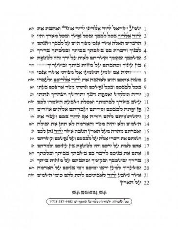 Tikun Sofrim Mezuza