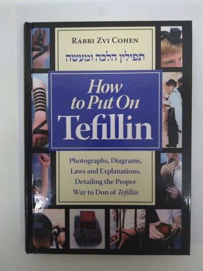 How To Put On Tefillin-Book