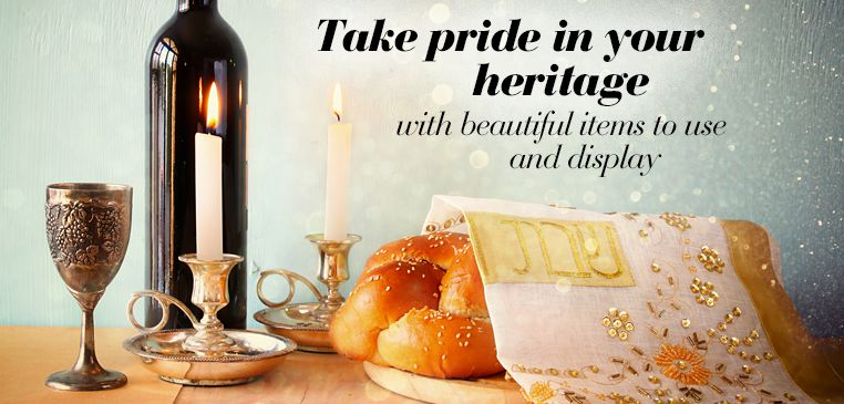 Fine judaica items for synagogue, jewish holidays and jewish gifting.